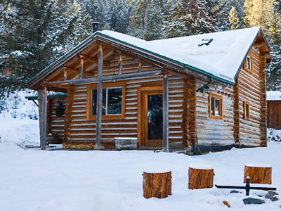 Bear Creek Log Cabin